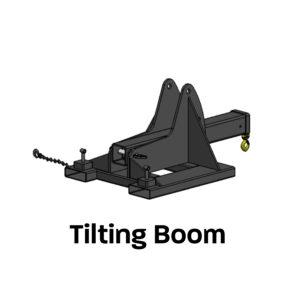 Tilting Boom